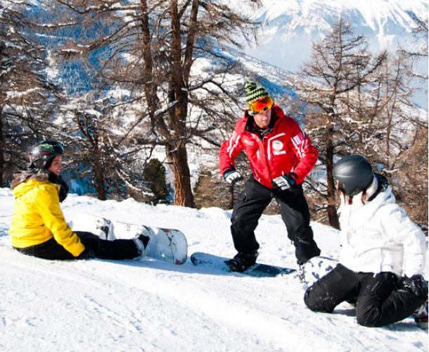 snowboard Lessons from 8 years old Veysonnaz ESS